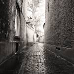 """Alley in Bruges"" by reganrose"