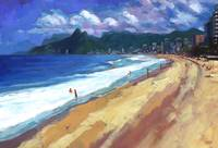 Quiet Day at Ipanema Beach