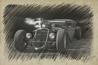 Sketch 2 Rat Rod Sedan