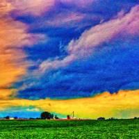 Approaching Storm Art Prints & Posters by Kurt Longnecker
