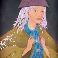 Mountain Woman Art Prints & Posters by Michael Wandelmaier