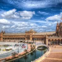 Plaza de España (Seville) Art Prints & Posters by Christian Requena