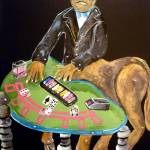 """The Centaur Croupier"" by Polylerus"