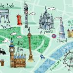 """London, UK by Kate Rochester"" by TheyDrawandCook"