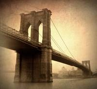 Vintage Brooklyn Bridge