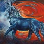 """""""Wildfire"""" by UngerArt"""