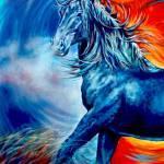 """""""Wildfire (digital)"""" by UngerArt"""