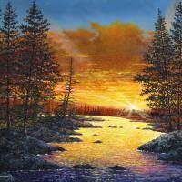 Fleeting Light Art Prints & Posters by Douglas Castleman