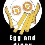 """EGG AND DIPPY SOLDIERS BLACK"" by Velsfi"