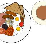 """ENGLISH BREAKFAST PLATE"" by Velsfi"