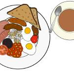 """ENGLISH BREAKFAST PLATE 2"" by Velsfi"