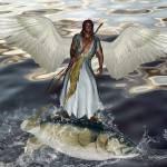 """Archangel Raphael"" by valzart"
