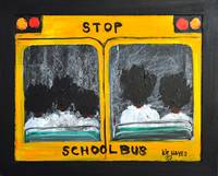 Back to  school Folk Art Larry Kip Hayes