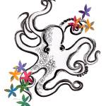 """Octopus Bouquet"" by sidneysstudios"