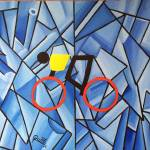 """CYCLISTS IV"" by ROFFEART"