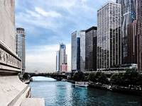 Chicago - View From Michigan Avenue Bridge