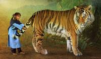 the parable of Kishi and the tiger