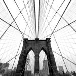 """NYC Brooklyn Bridge"" by sensorfleck"