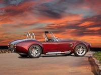 1966 Shelby Cobra 'Fine Burgundy Wine'