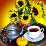 """Autumn Tea Service"" by raetucker"