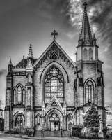 Saint Mary of the Mount - B&W