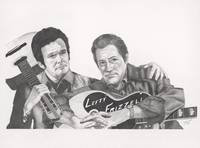 Merle Haggard & Lefty Frizzell by Frizzell
