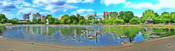 Huntsville Alabama Big Spring Park in Photo Paint
