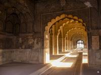 India - Tunnel at Delhi's Red Fort