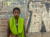 India - Boy in Scarf