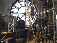 Clock interior in Bromo Seltzer Tower