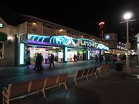 Ocean City Boardwalk at Night