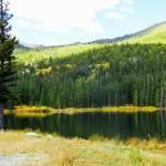 """""""Autumn mountain lake"""" by lizmix"""