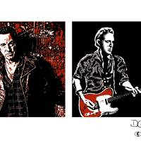 Bruce Springsteen Art Prints & Posters by Dave Gafford