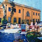 """Yard Sale on Sunset Boulevard"" by BeaconArtWorksCorporation"