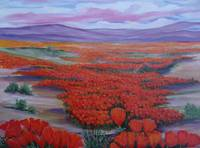California Poppies Painting
