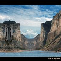TOWER OF POSEIDON Art Prints & Posters by Robbe Corbeau
