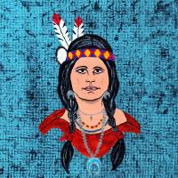 Woman of Maiden Rock Art Prints & Posters by Stephen Twite