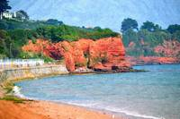 Red Cliffs of Preston Sands, Torquay