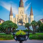 """Morning at Jackson Square"" by Inge-Johnsson"
