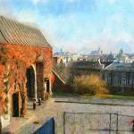 """Wawel hill"" by bogfl"