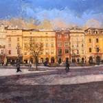 """town houses in Cracovia"" by bogfl"