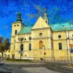 """Bernardyni Church in Resovia"" by bogfl"