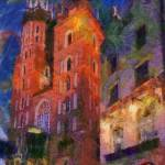 """Cracovia impression"" by bogfl"