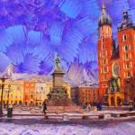 """Kraków"" by bogfl"