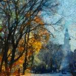 """wawel in autumn"" by bogfl"