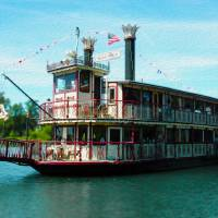 Willamette Queen Riverboat Art Prints & Posters by John Tribolet