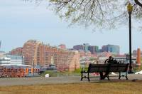 View From Federal Hill in Baltimore