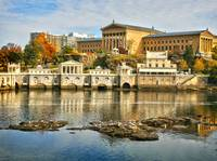 Autumn at Philadelphia Waterworks & Museum of Art