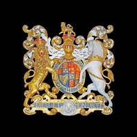 Royal Coat of Arms , UK.