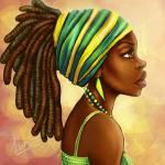 """""""green yellow wrap"""" by Kiratheartist"""